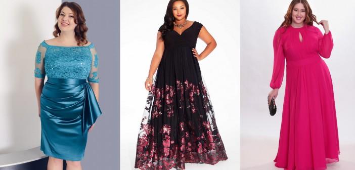Платье для полных фото новые модели сезона своими руками