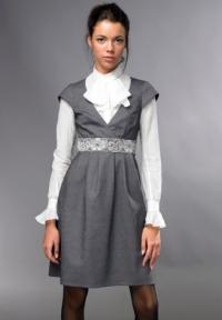 Модный портал. Модные офисные сарафаны - Все о моде