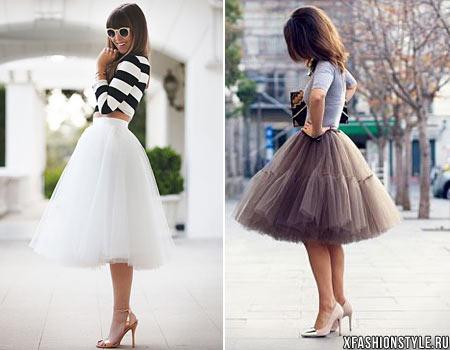 Фатиновая юбка своими руками
