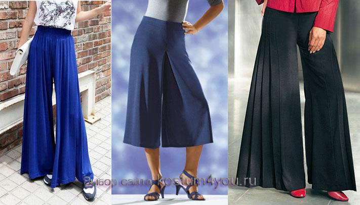 Как сшить юбку-брюки (построение выкройки)