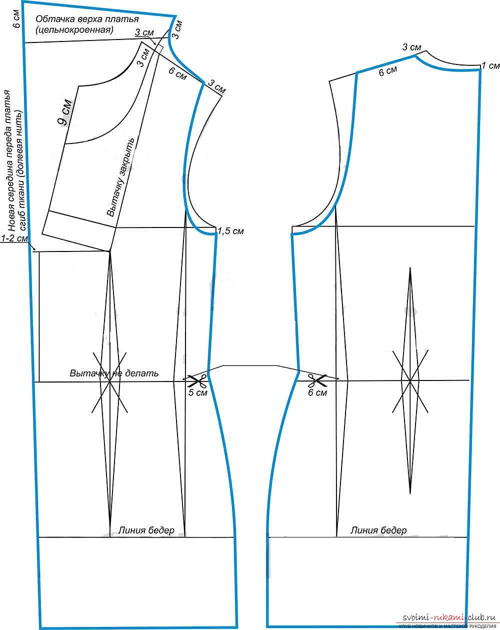 Как шить из трикотажа и без оверлока